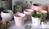 virágtartók, vázák, kosarak