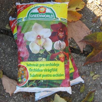 Orchidea föld 5 liter ASB Greenworld