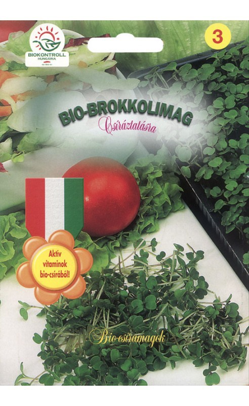 Bio brokkoli csíra