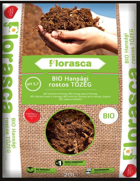 Bio rostos tőzeg, hansági Florasca - 3 l