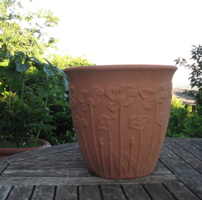 Mediterrán cserép Poppy Bell 20 cm