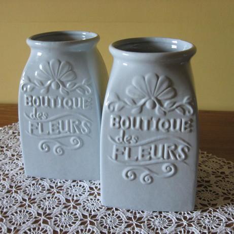 Váza vízkék, nagy