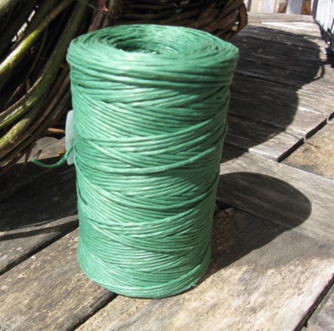 Zöld kötöző, papír