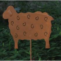 Bárány kerti dísz