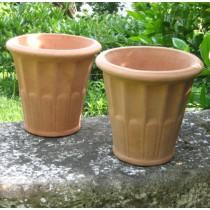 Mediterrán cserép Vaso bacellato 20 cm