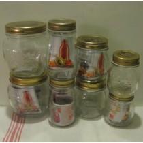 Üveg fémtetővel 0,2 l, Bormioli Staggioni