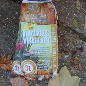 Általános virágföld 3 liter Agroland
