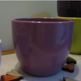 Levendula-lila kerámia kaspó -15 cm
