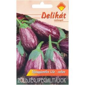 Padlizsán - 'Tsakoniki' lilacsíkos