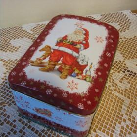 Süteményes doboz karácsonyi