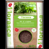 Bio fűszernövény föld Florasca - 3 l