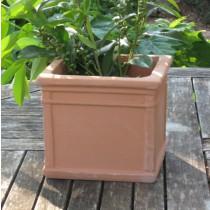 Mediterrán cserép, kocka 20 cm